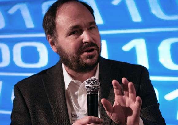 Paul Maritz, fotografiado en 2009, cuando era CEO de VMware (fotografía de Robert Scoble, con licencia de Creative Commons)