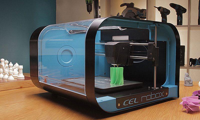 Anuncian impresora 3d robox para consumidores diario ti for Videos de impresoras 3d
