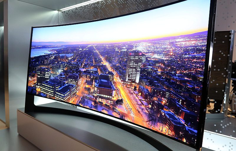Samsung 105 inch CURVED UHD TV