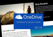 Bing rewards onedrive