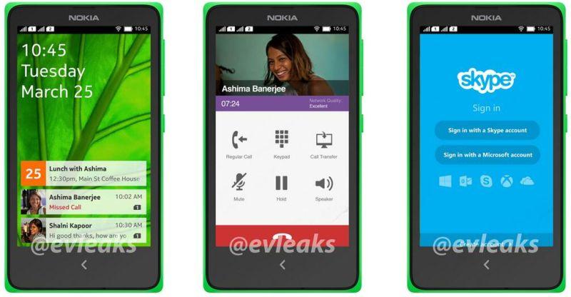 Evleaks Nokia Android