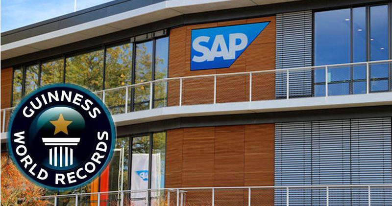 SAP Guinness record