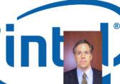 David Hoffman y logotipo Intel