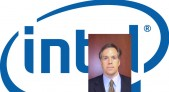David Hoffman y logotipo Intel