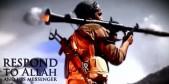 Fotograma Joven yihadista operando bazuka