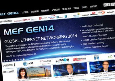 Captura del sitio GEN14.com