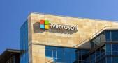 Frontis de edificio corporativo de Microsoft