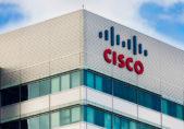 Edificio con el emblema de Cisco