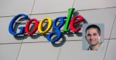 Edificio de Google y fotografía de Amin Vahdat, ingeniero de Google
