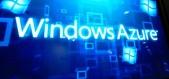 Fotografía de pantalla donde se exhibe el logotipo de Windows Azure