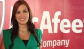 Juliana Salazar Directora de Ventas para el Sur de Latinoamérica de McAfee
