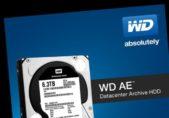 WD presenta discos duros para el almacenamiento de datos fríos, optimizados para centros de datos