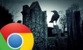 Chrome en cementerio