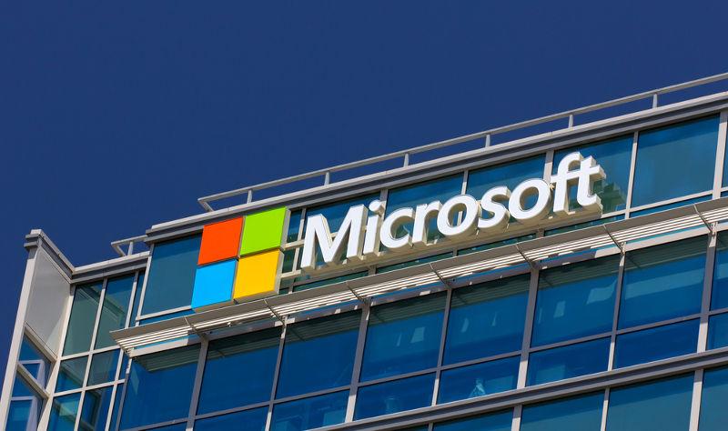 Edificio corporativo de Microsoft en Santa Clara, Estados Unidos