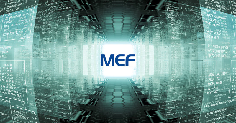 Imagen 3D de circuito virtualizado - NFV, SDN, LSO MEF