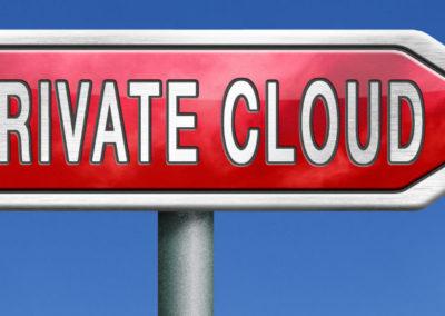 Señal con nube privada