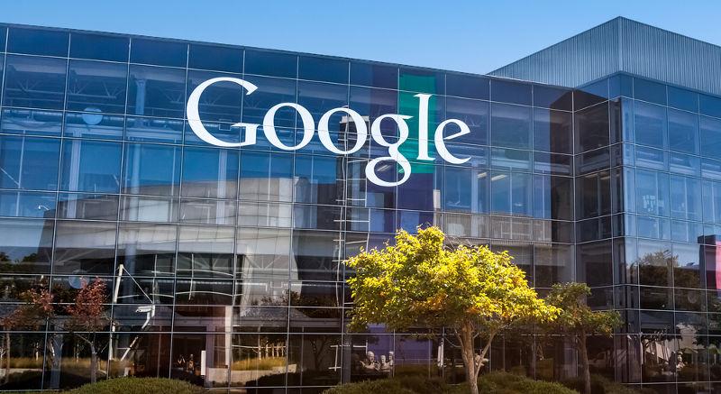 Edificio corporativo de Google en Mountain View, California, Estados Unidos