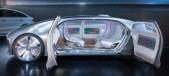 Concepto automovil sin conductor Mercedes F 015