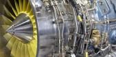 Detalle motor de avión