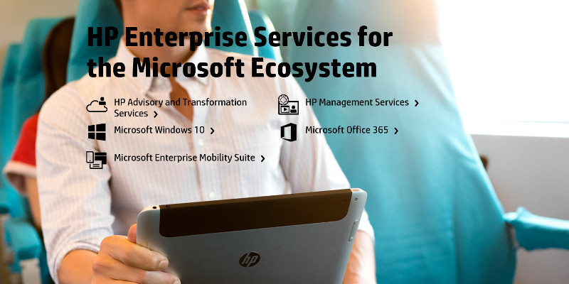 HP enterprise services for the Microsoft Ecosystem