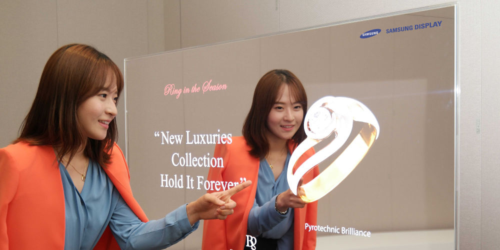 Samsung OLED espejo
