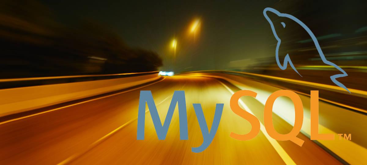 High speed and MySQL