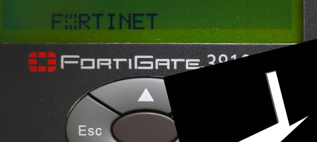 Puerta trasera backdoor Fortinet