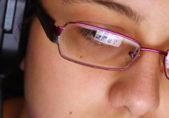 Reflejo pantalla gafas