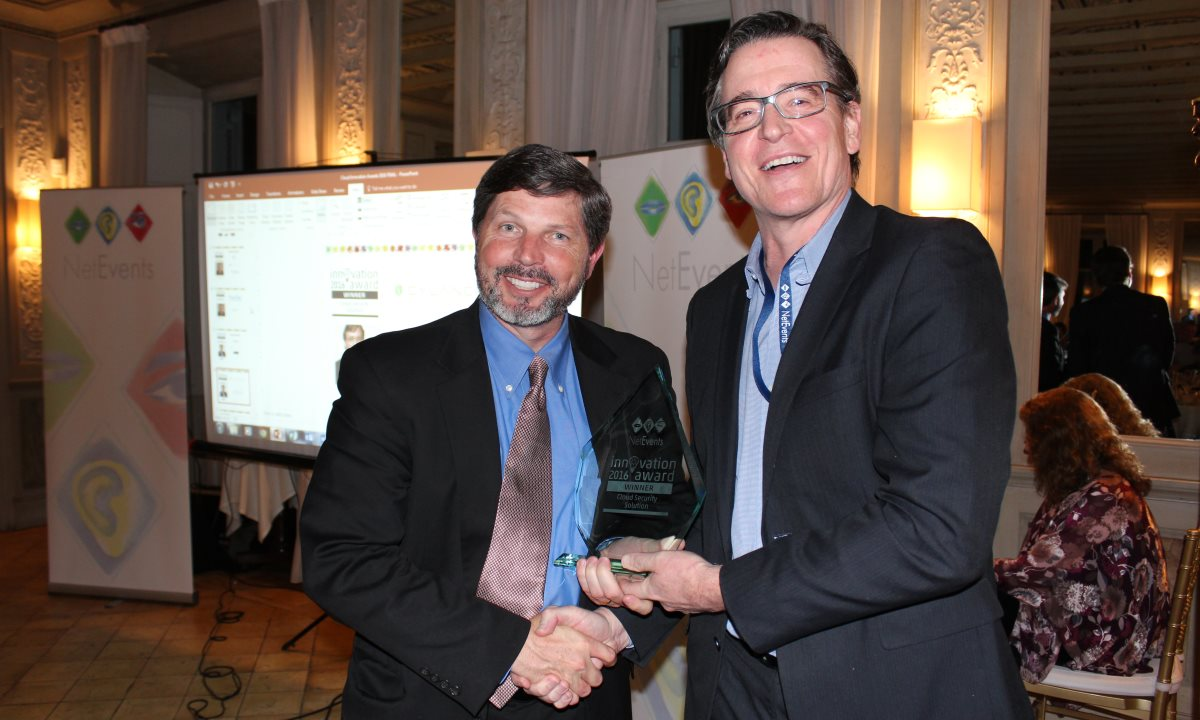 Cloud Security Solution award Greg Fitzgerald Cylance Winner