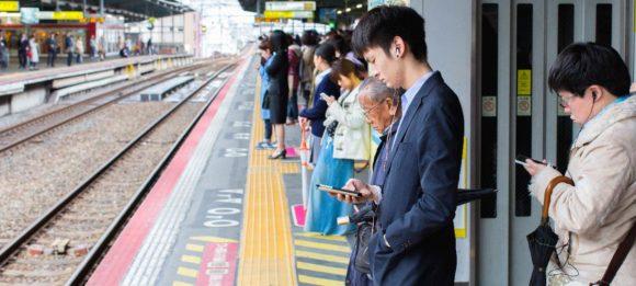 Smartphones y gente