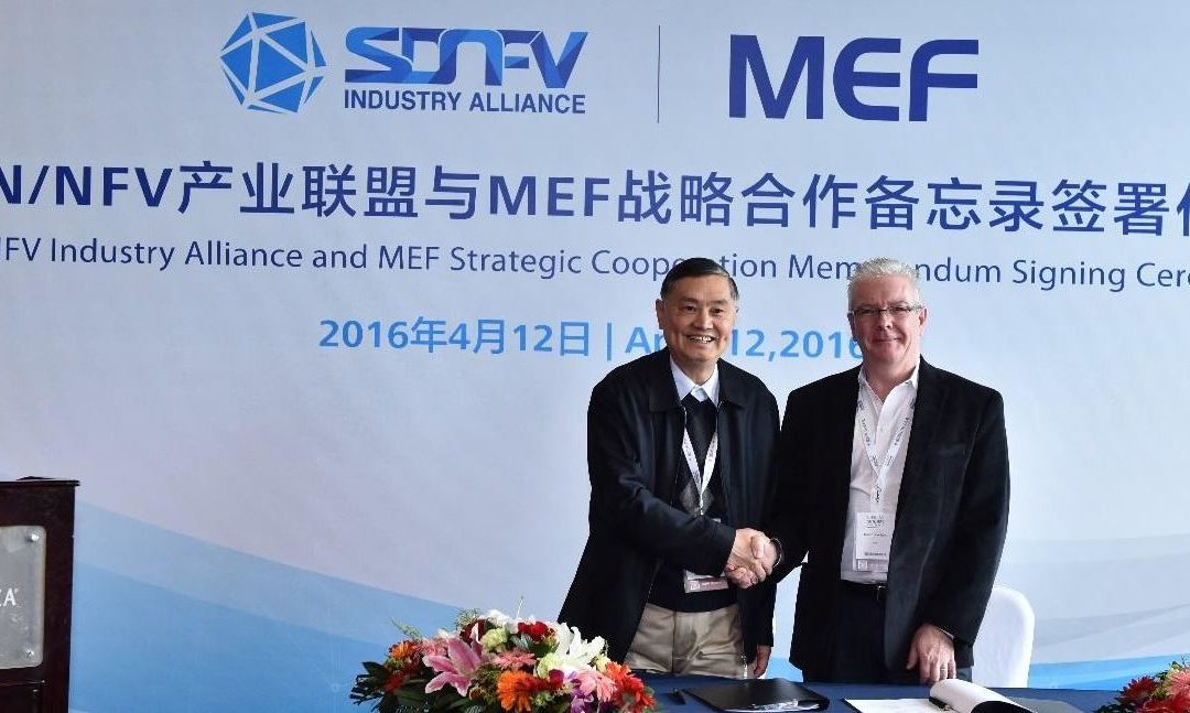 El MEF se une a China SDN/NFV Industry Alliance