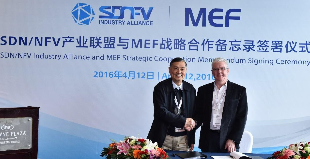 MEF-SND-NFV Industry Alliance