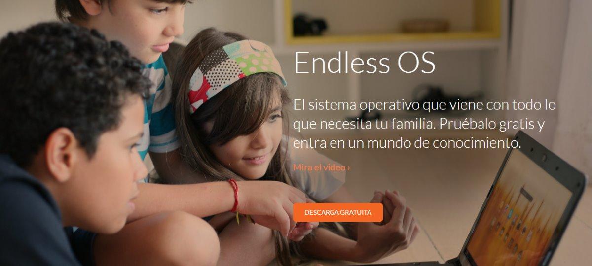 Endless sistema operativo