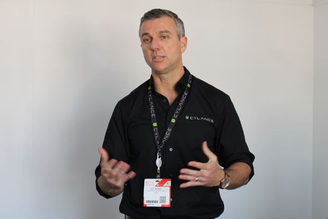 Evan Davidson, VP of EMEA Sales, Cylance (Photo: Diario TI)
