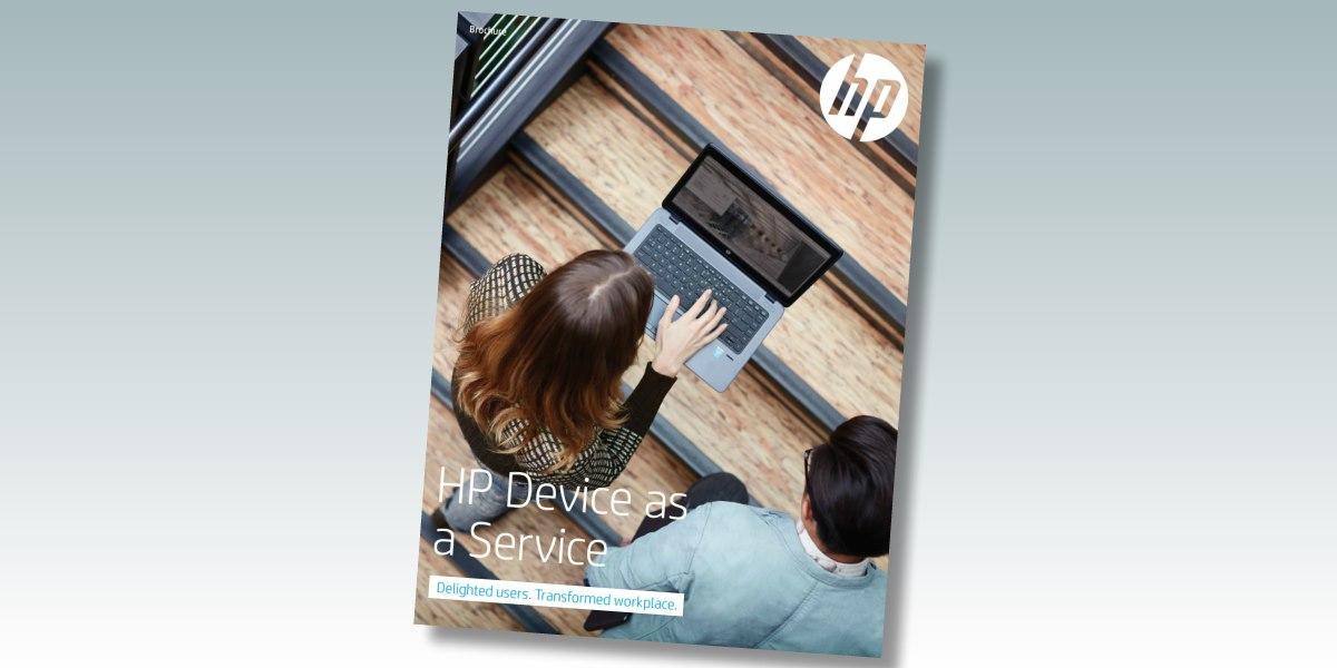 HP device as a service DaaS