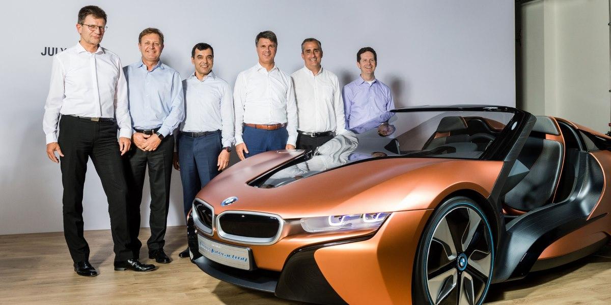 Intel BMW Group y Mobileye vehiculo autonomo