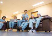 Profesionales sanitarios personal de salud
