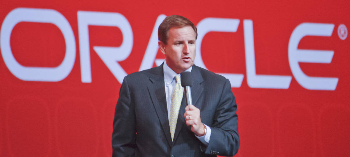Mark Hurd Oracle CEO