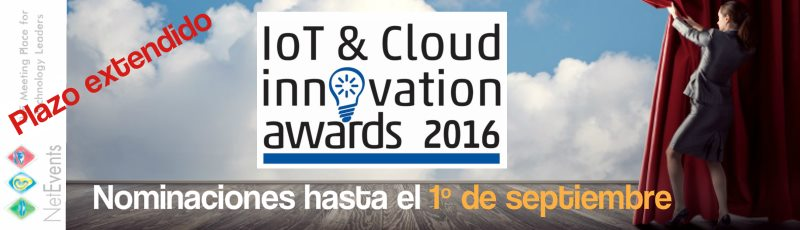 IoT and Cloud Innovation Awards 2016 NetEvents