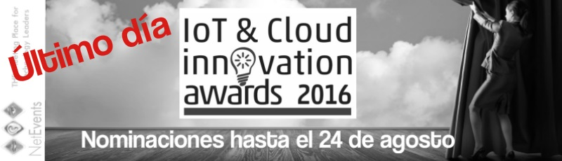 NetEvents Cloud and Innovation Awards 2016