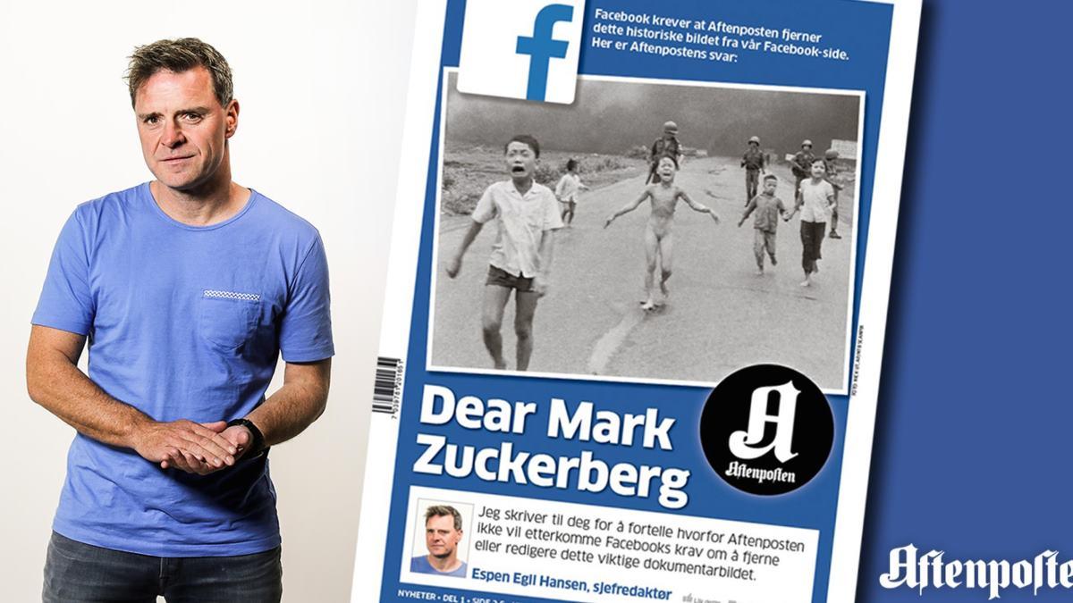 Aftenposten carta abierta a Facebook