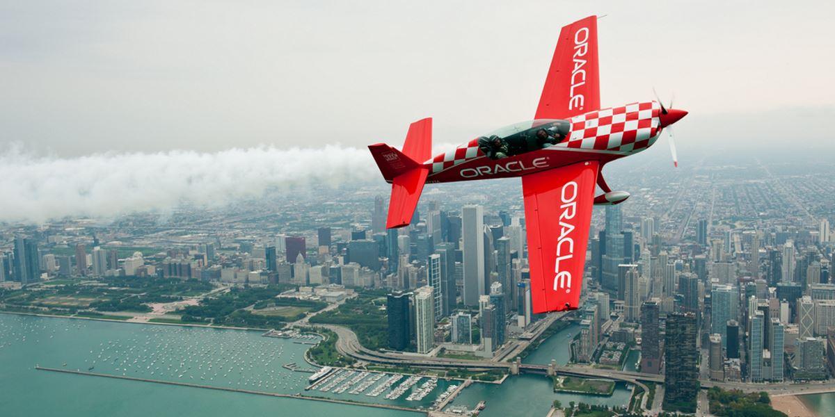 Avión de Oracle