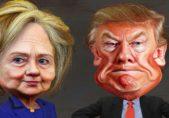 Hillary Clinton Donald Trump by DonkeyHotey Creative Commons
