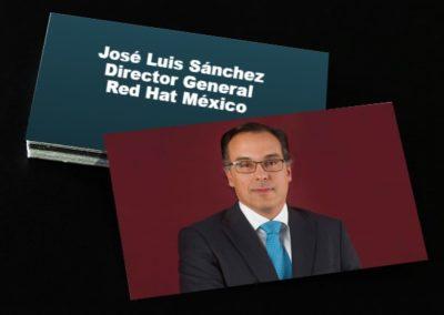 José Luis Sánchez Director General Red Hat México