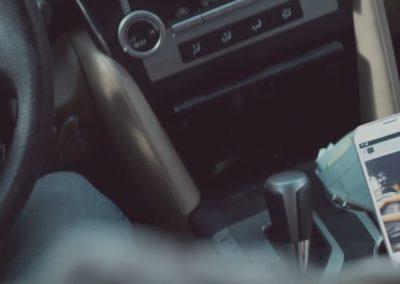 SMS conduciendo