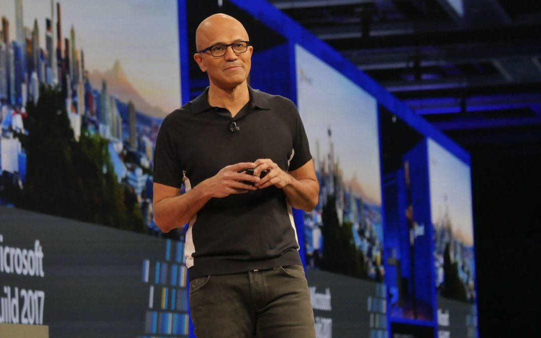 Microsoft Satya Nadella Build 2017-web