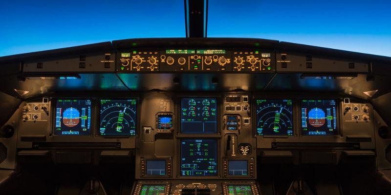 Cockpit de avión