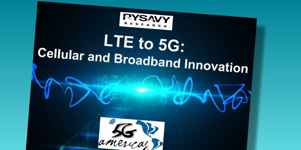 LTE to 5G: Cellular and Broadband Innovation LTE a 5G: innovación en celulares y banda ancha