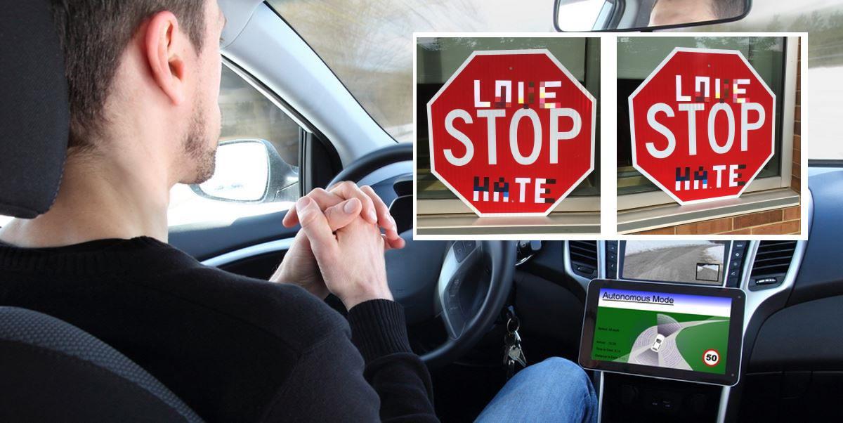 vehiculo autonomo senal