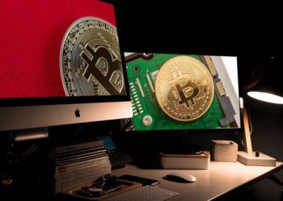 Bitcoin-screen